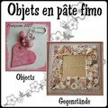 9. Objets en pte fimo