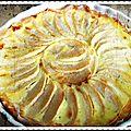Tarte-crèpe aux pommes