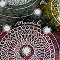 Page art journal : mandala
