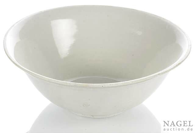 A rare deep bowl of Xuanzhou or Ding type stoneware, China, Five Dynasties (907-960) or Northern Song Dynasty (960-1127)
