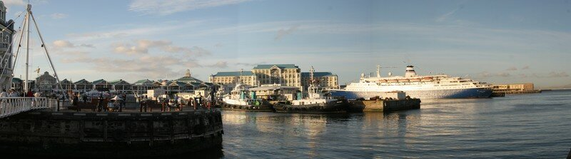 V & A Waterfront in Cape Town ; South-Africa