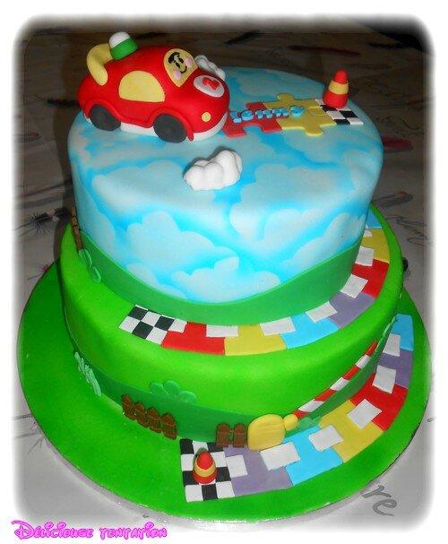 Gâteau tut tut bolide