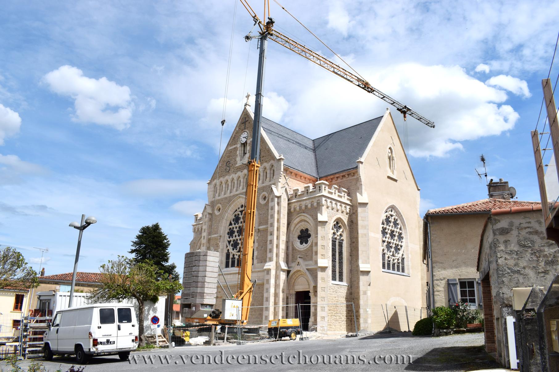 L'église Saint-Hilaire de Mortagne est comme neuve