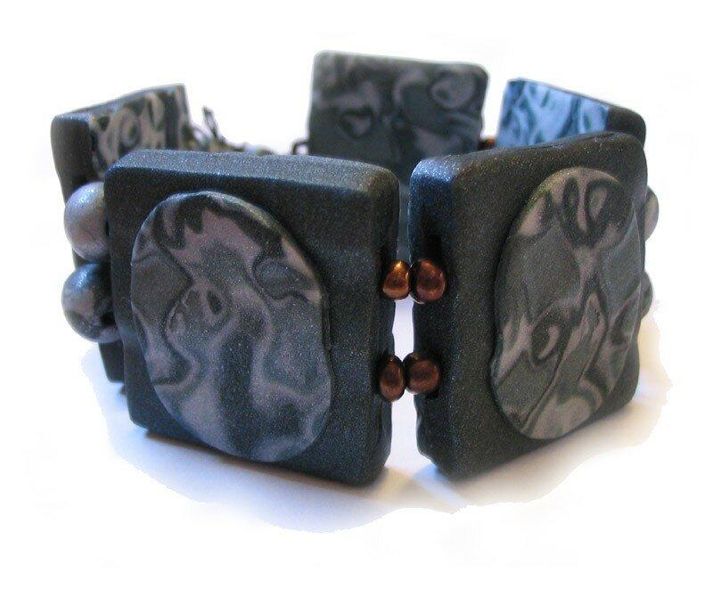 Vert métalisé - bracelet