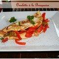 Omelette à la basquaise