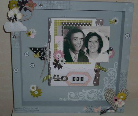 cadeau original 40 ans mariage meilleur blog de photos. Black Bedroom Furniture Sets. Home Design Ideas