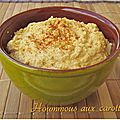 Hoummous aux carottes