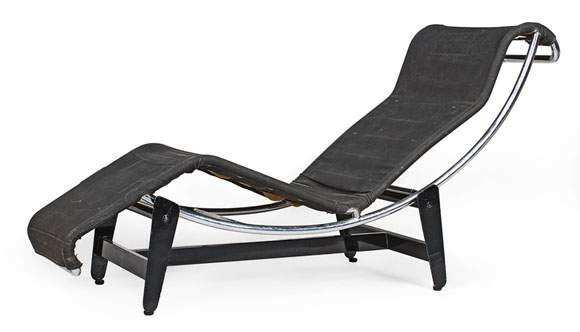 le corbusier charlotte perriand pierre jeanneret chaise longue positon variable mod le. Black Bedroom Furniture Sets. Home Design Ideas