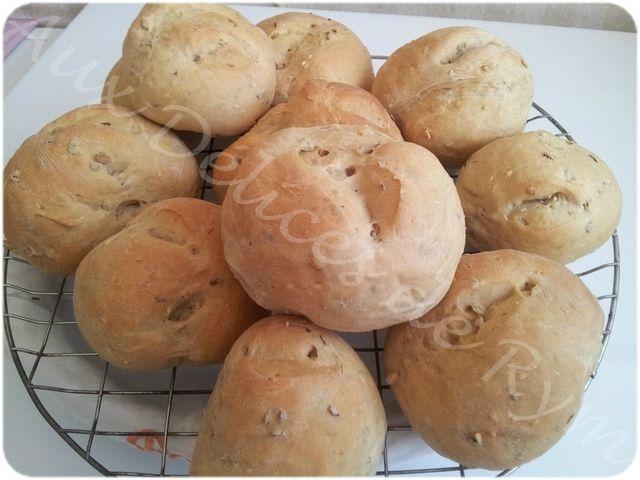 Petits pains aux céréales0010