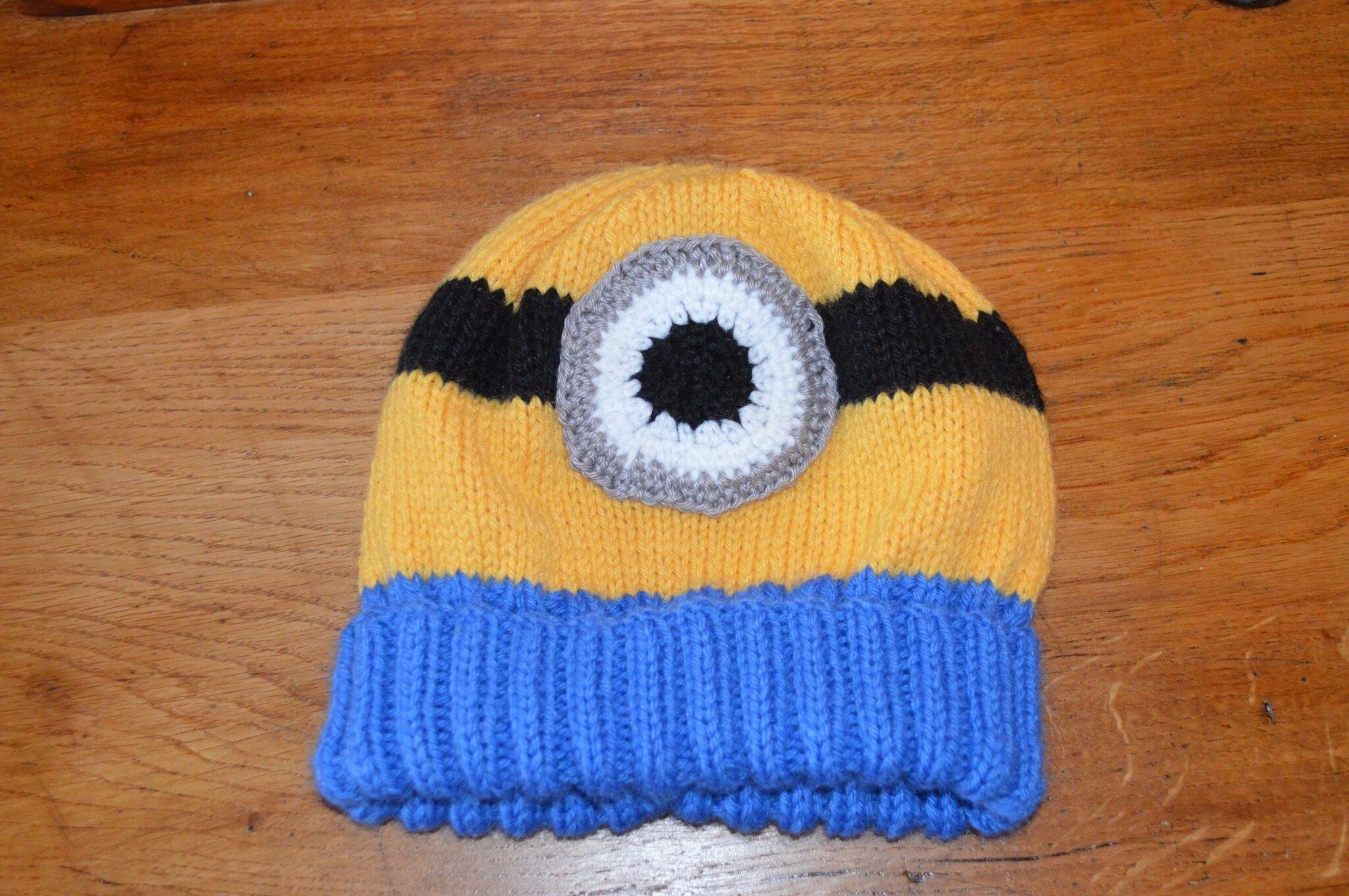tricoter un bonnet moi moche et mechant