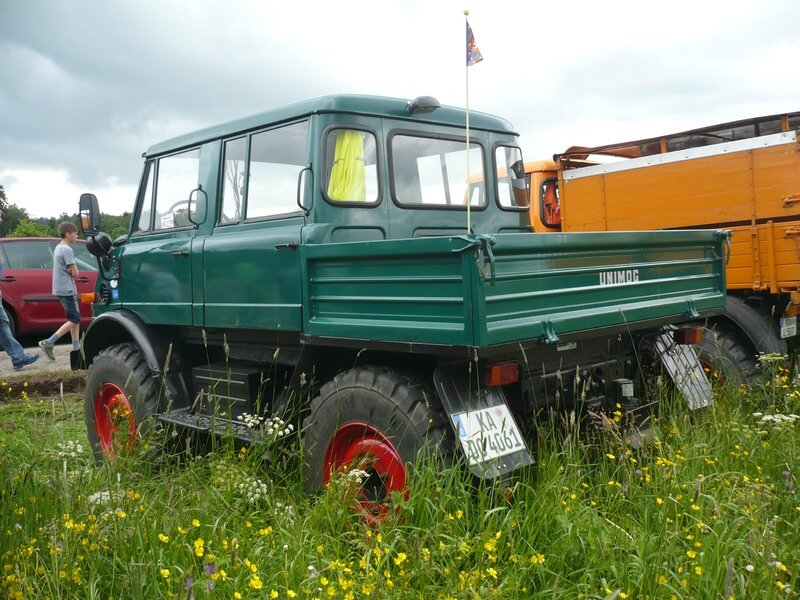 UNIMOG type 406 double cabine Bad Teinach - Schmieh (2)