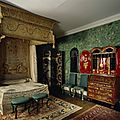 The state bedroom and chinese room at erddig, wrexham
