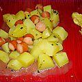 Ragoût de pomme de terre saucisses