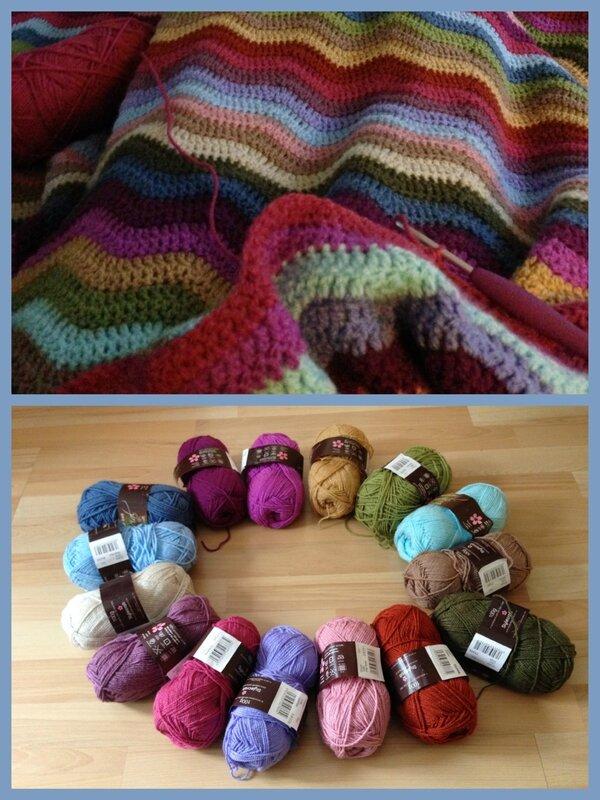 Ripple blanket to do mars 2016