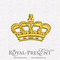 couronne royal présent