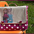 Cartable hermione reine des neiges