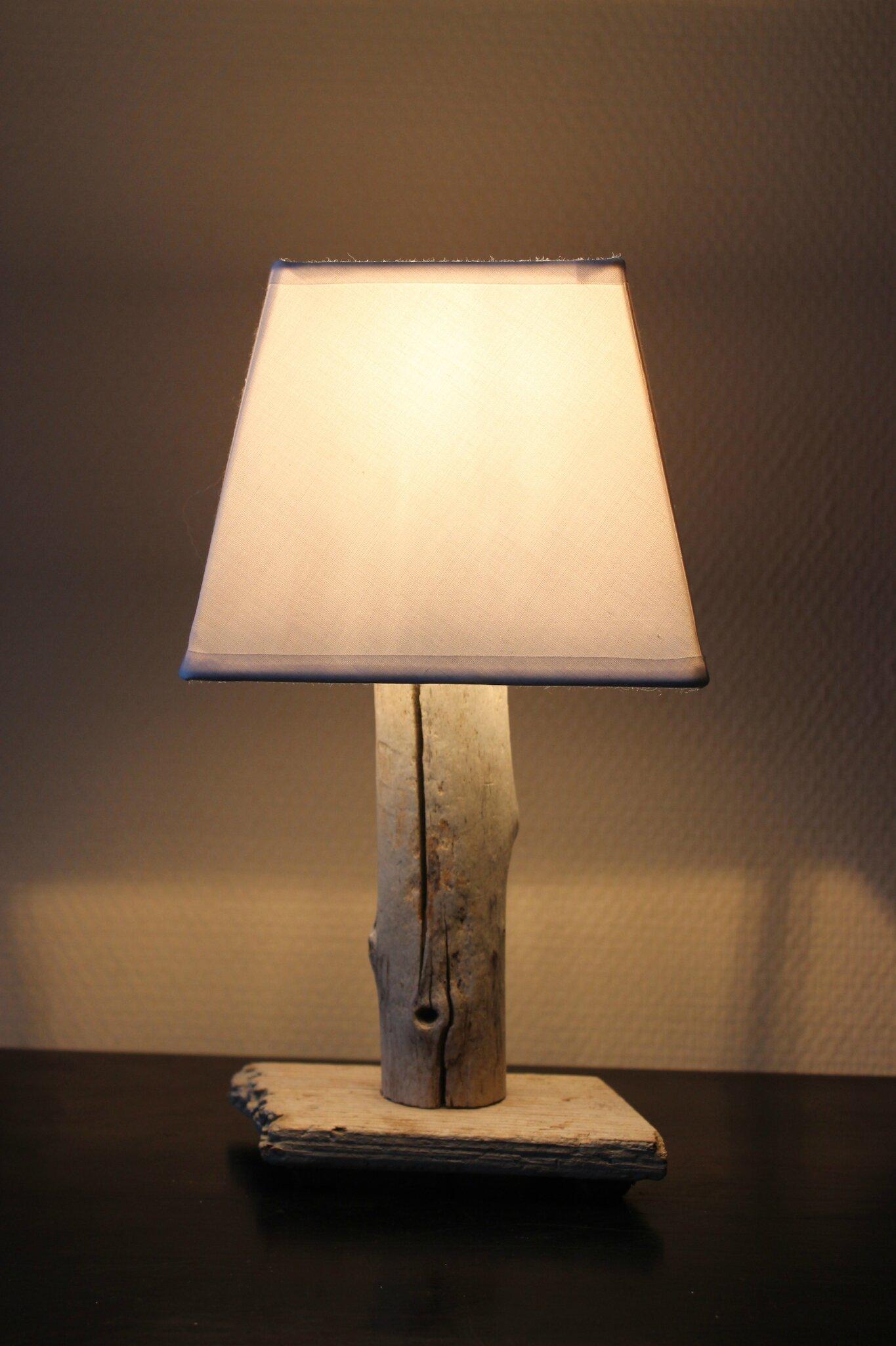 Lampe Chevet Bois Et Blanc Lampe Chevet Marine Marchesurmesyeux
