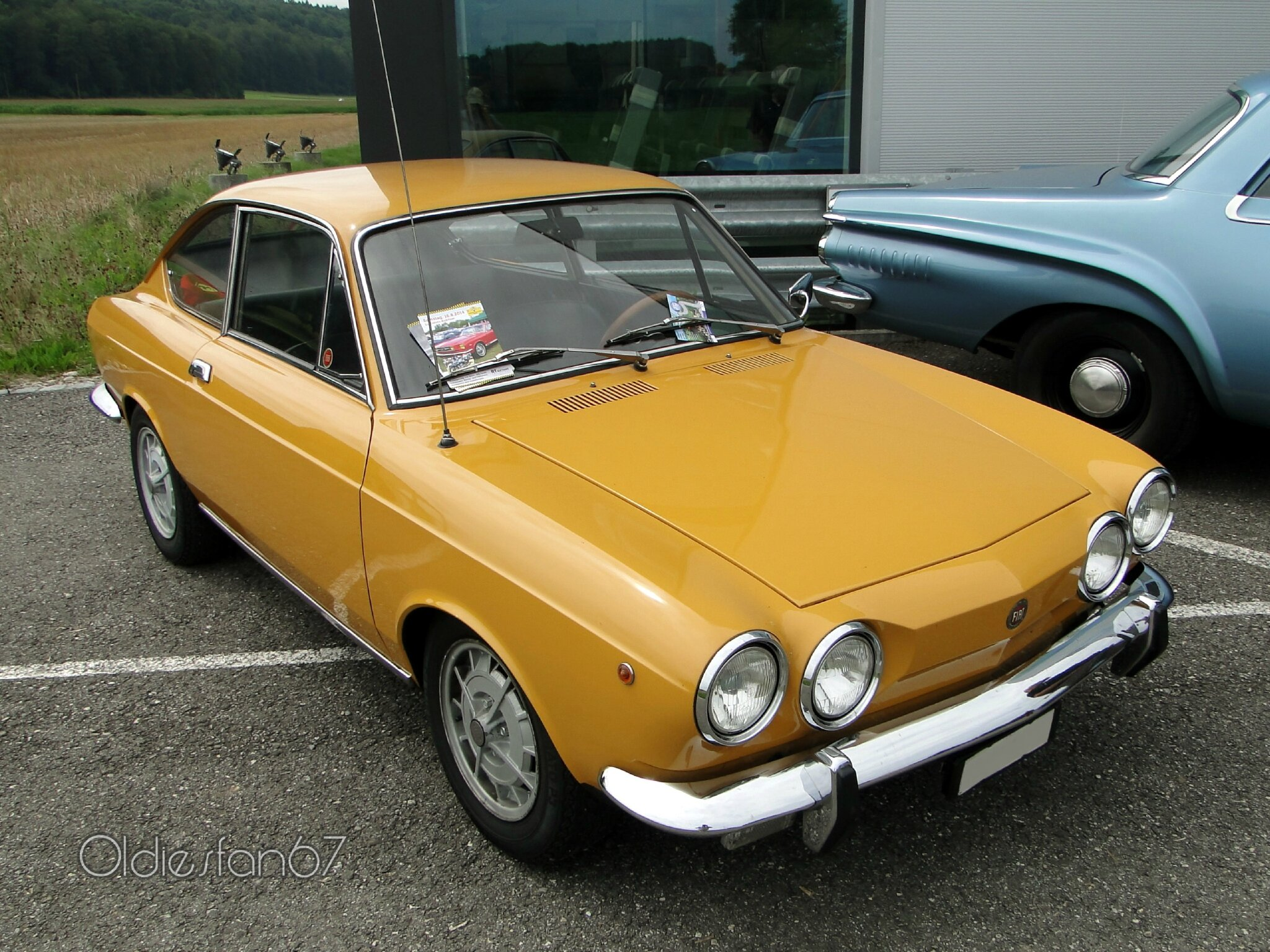 fiat 850 sport coupe 3e s rie 1971 1972 oldiesfan67 mon. Black Bedroom Furniture Sets. Home Design Ideas