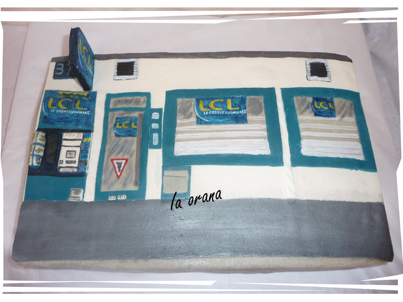 Gâteau Banque/Bank cake