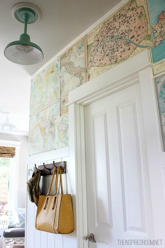 wall paper maps