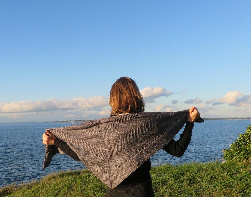 Textured shawl (1)