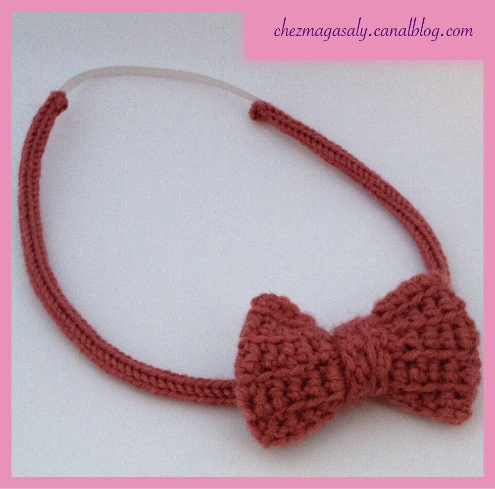 Ma première création en tricotin : un headband noeud pour ma fille (DIY inside)