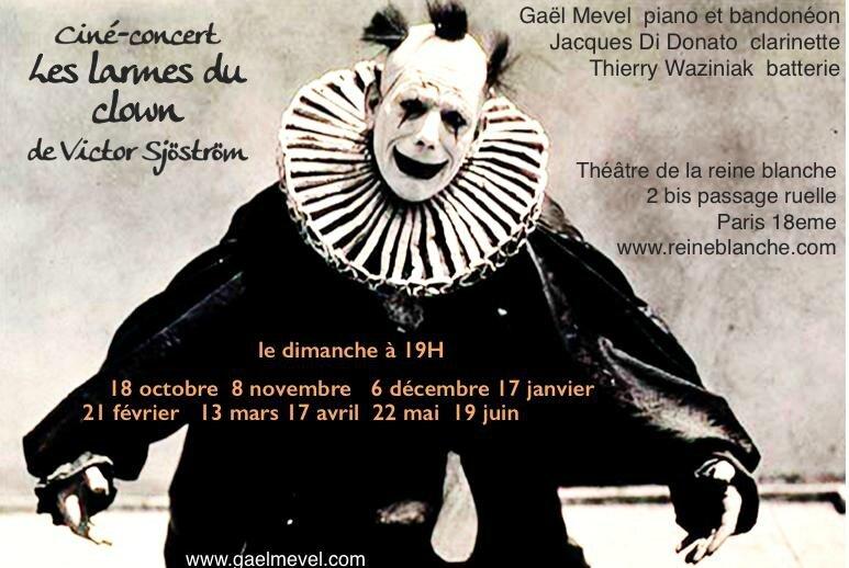 larmes du clown à Paris