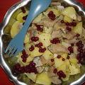 Salade suédoise au hareng
