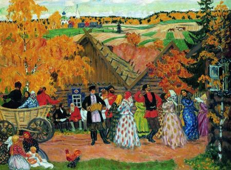 village-holiday-autumn-holiday-in-the-village-1914