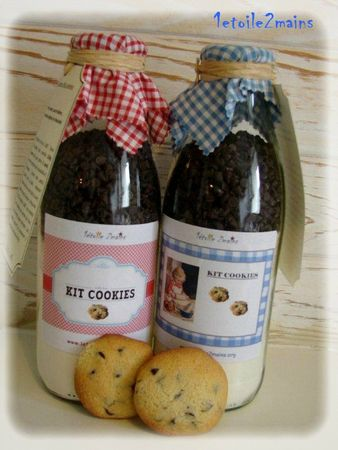 cookies bouteilles