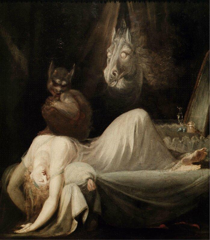 fussli le cauchemar 1790-91