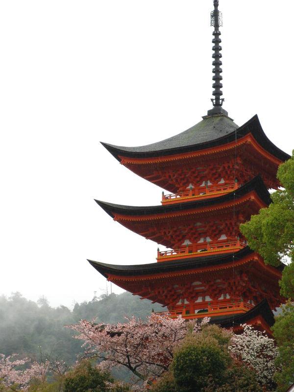 Pagode à Hiroshima