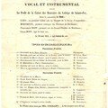 Spectacles  Sainte-Foy, de 1855  1914.