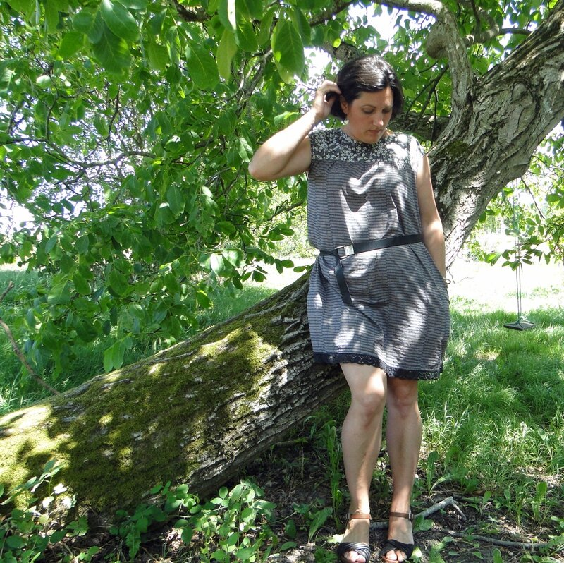 robe Liberty marron Les Bêtes de Céline