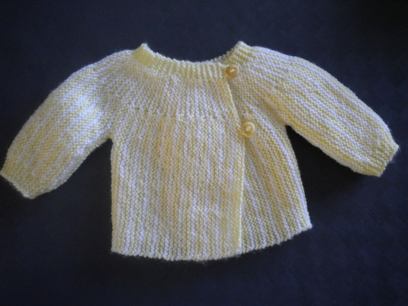tricot layette naissance