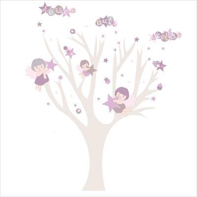 La for t de stickers lili pouce pisode 2 d coration for Deco arbre chambre bebe