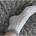 Crochet thé de février autour du pied et accessoire bébé