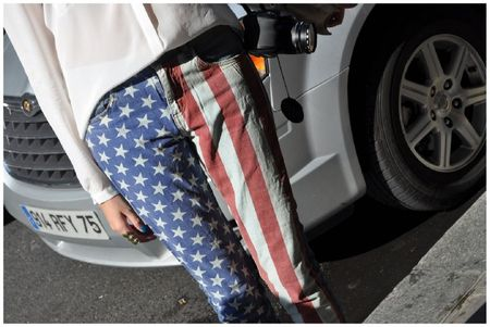 American Flag Pants