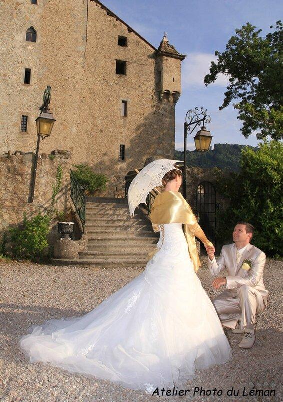 La séance photo au Chateau d'Avully (9)