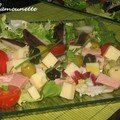 Salade estivale complte en folie du moment 