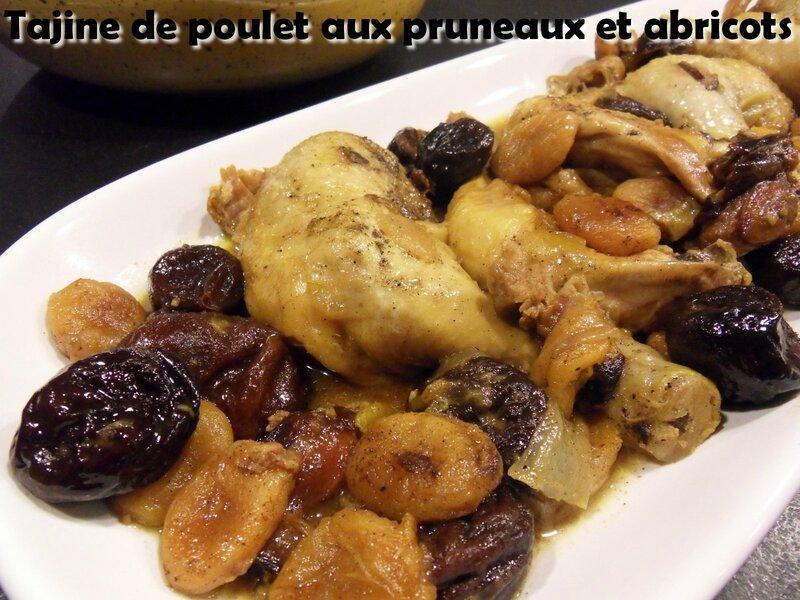 tajine de poulet aux pruneaux et abricots1