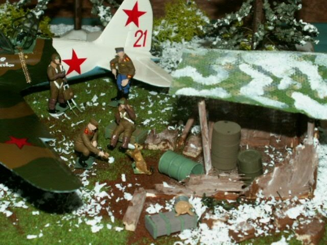 AVION SOVIET BOMBER SU 2 finie le 210317 (3)