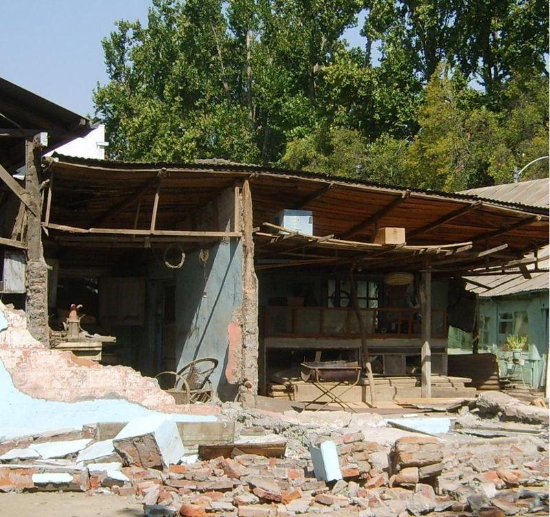 El terremoto del 27 de febrero 2010