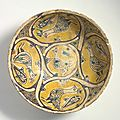 bowl, iran, nishapur,10th century