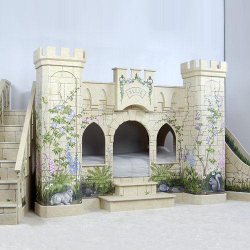 Beautiful Chambre Fille Chateau Princesse Photos - Sledbralorne.com ...