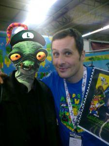 Mon avatar et Marcus