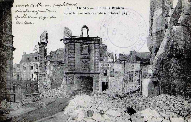 Arras rue de la braderie