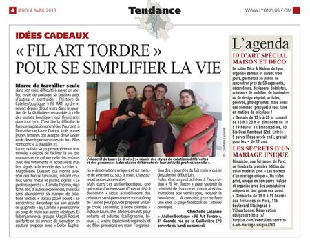 Fil Art Trodre dans direct matin du 4 avril 2013