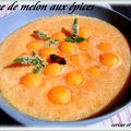 SOUPE DE MELON AUX EPICES