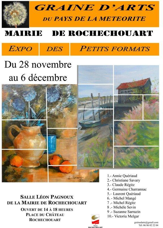 Affiche expo GAPM dec 2015 Mairie